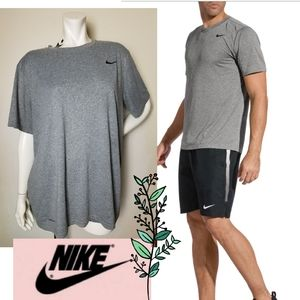 The NIKE Legend 2.0 Tee Dri-FIT Shirt Top Grey XL